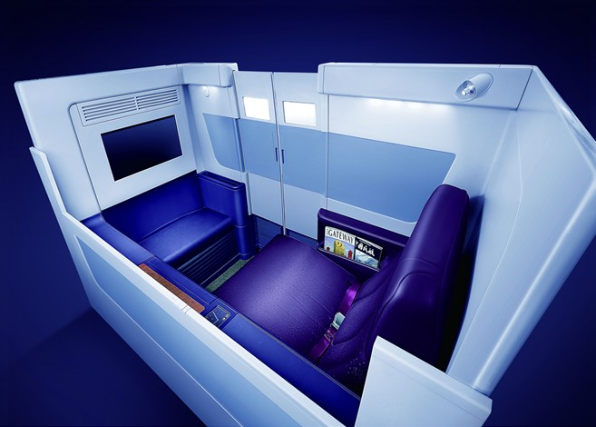 China Southern First Class A380